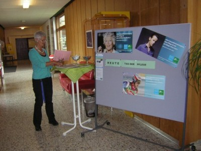 am SBK-Infostand in Appenzell